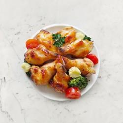 柚肉和風醬&果醋_燒烤雞翅腿