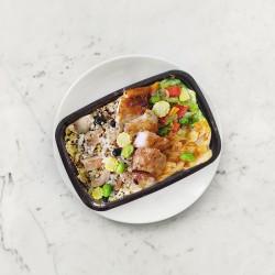 柚肉和風醬_松阪豬雜糧炊飯