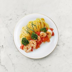 柚肉果醋_糖醋番茄蝦仁義大利麵食譜