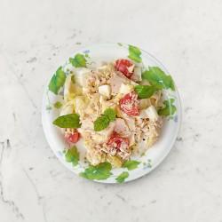 柚肉和風醬&果醋_涼拌鮪魚蛋淺漬高麗菜
