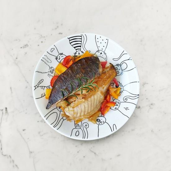 柚肉和風醬_柚庵燒魚排