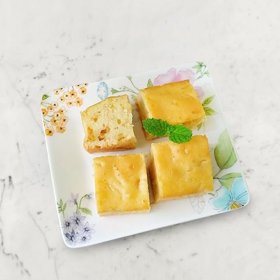 柚肉果實_柚子蛋糕