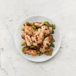 柚肉和風醬_蔾麥毛豆雞丁