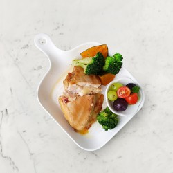 柚肉和風醬&果醋_柚香起司夾心雞排