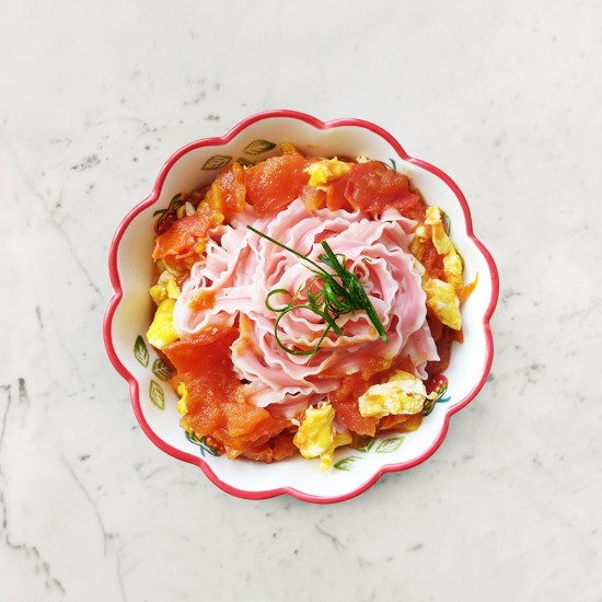 柚肉和風醬_和風番茄雞蛋麵