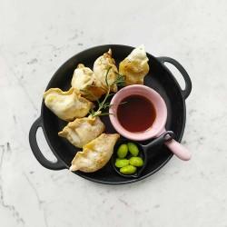柚肉和風醬_氣炸餃子
