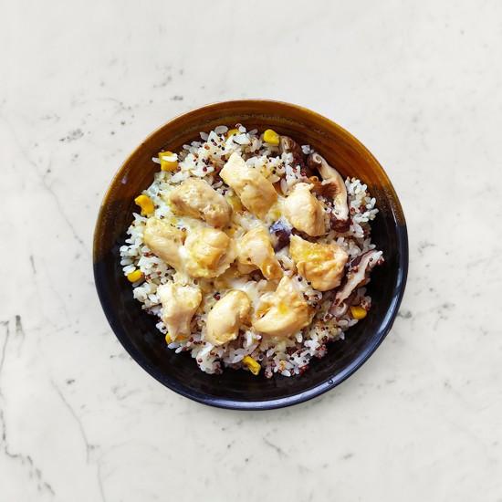柚肉和風醬_簡易親子丼