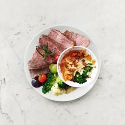 柚肉和風醬_焗烤鮪魚花椰米