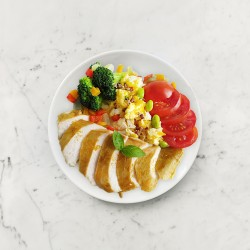 柚肉和風醬_和風醬咖哩雞胸排