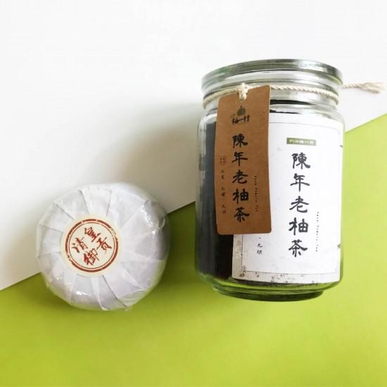 陳年老柚茶