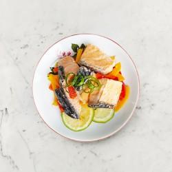 柚肉和風醬_鮭魚南蠻漬