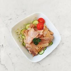 柚肉和風醬_和風薑燒豬肉