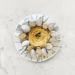 柚肉和風醬_和風蛤蜊義大利麵