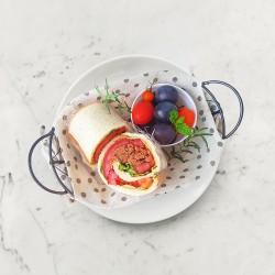 柚肉和風醬_和風素肉燥吐司捲餅