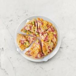 柚肉和風醬_柚醬火腿披薩