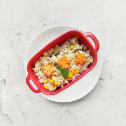 柚肉和風醬_培根玉米炊飯
