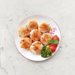 柚肉和風醬_和風奶油醬干貝