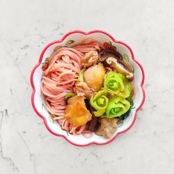 柚肉和風醬_和風香菇雞麵