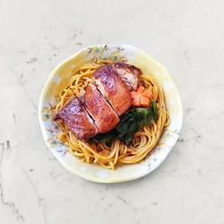 柚肉和風醬_柚香豆瓣雞拌麵